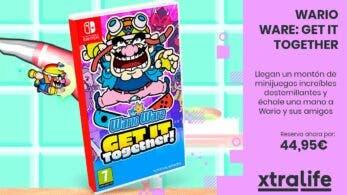 Precio y reserva disponibles para WarioWare: Get it Together, Game & Watch: Zelda, Metroid Dread, Mario Party Superstars y más