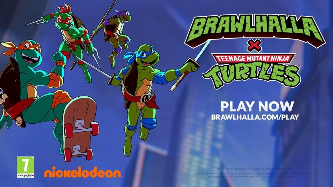 Otro vistazo a las Tortugas Ninja en Brawlhalla