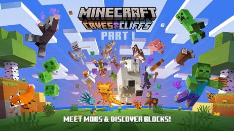 Nintendo celebra la llegada de la primera parte de Caves & Cliffs a Minecraft con este tráiler