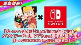 Duel Masters de Asobo llegará este verano a Nintendo Switch