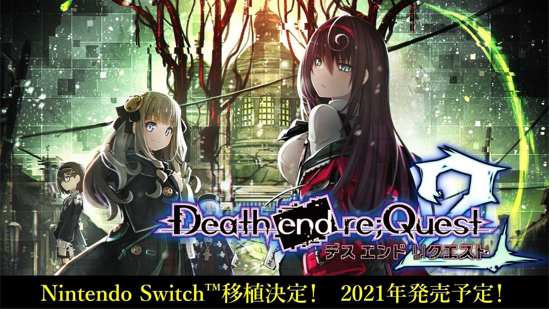 Death end re;Quest 2 es anunciado para Nintendo Switch