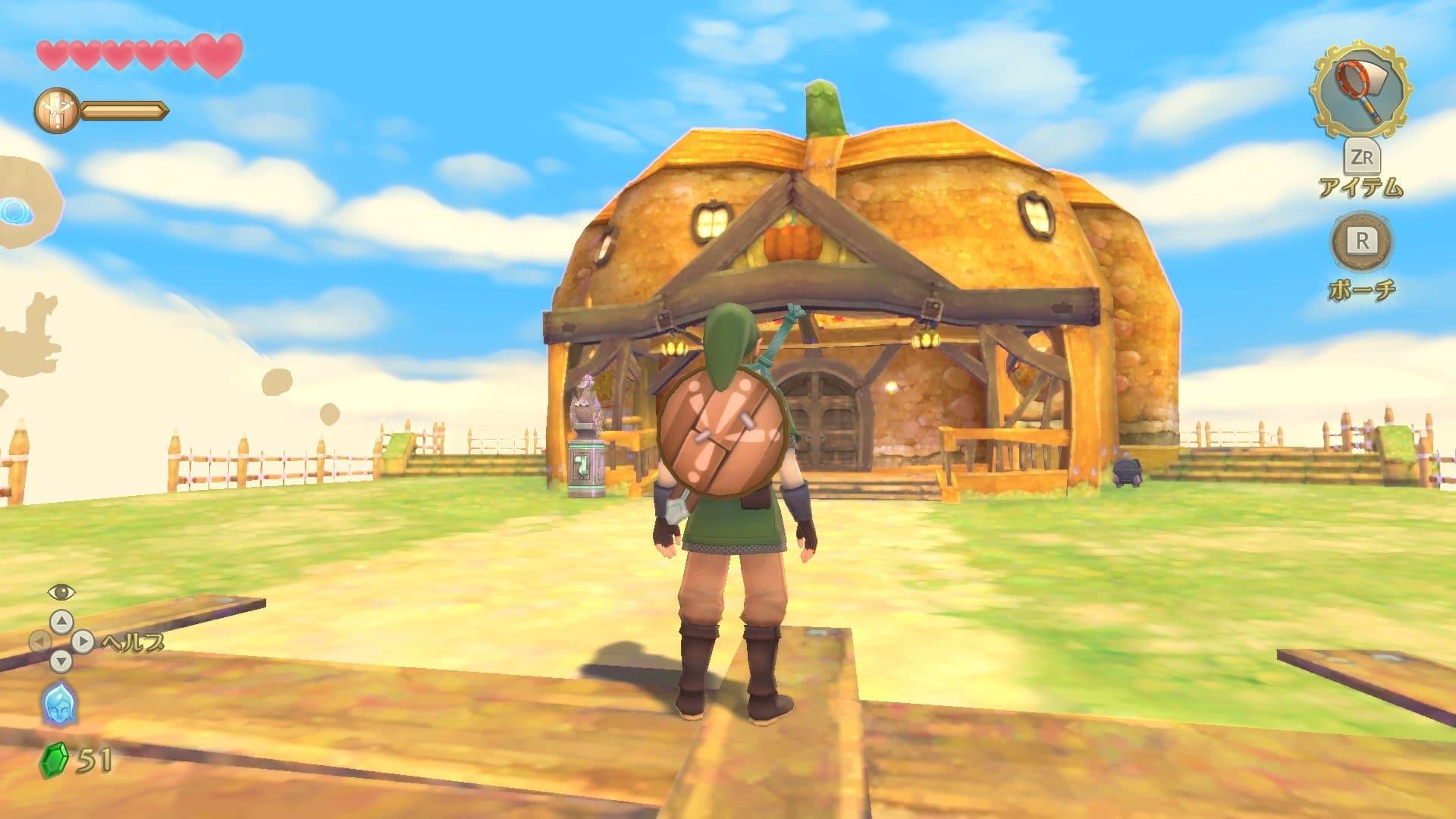 Se comparten detalles e imágenes de la isla de Calabia en Zelda: Skyward Sword HD