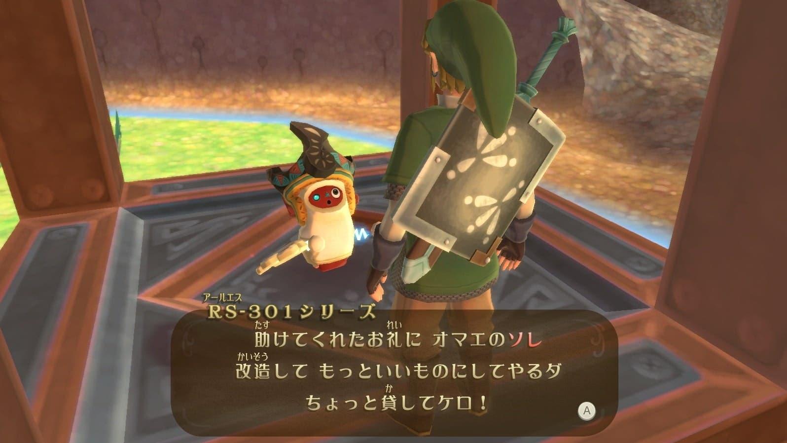 Se comparten detalles, un clip de vídeo de los Cronolitos e imágenes de los Robots Antiguos de Zelda: Skyward Sword HD