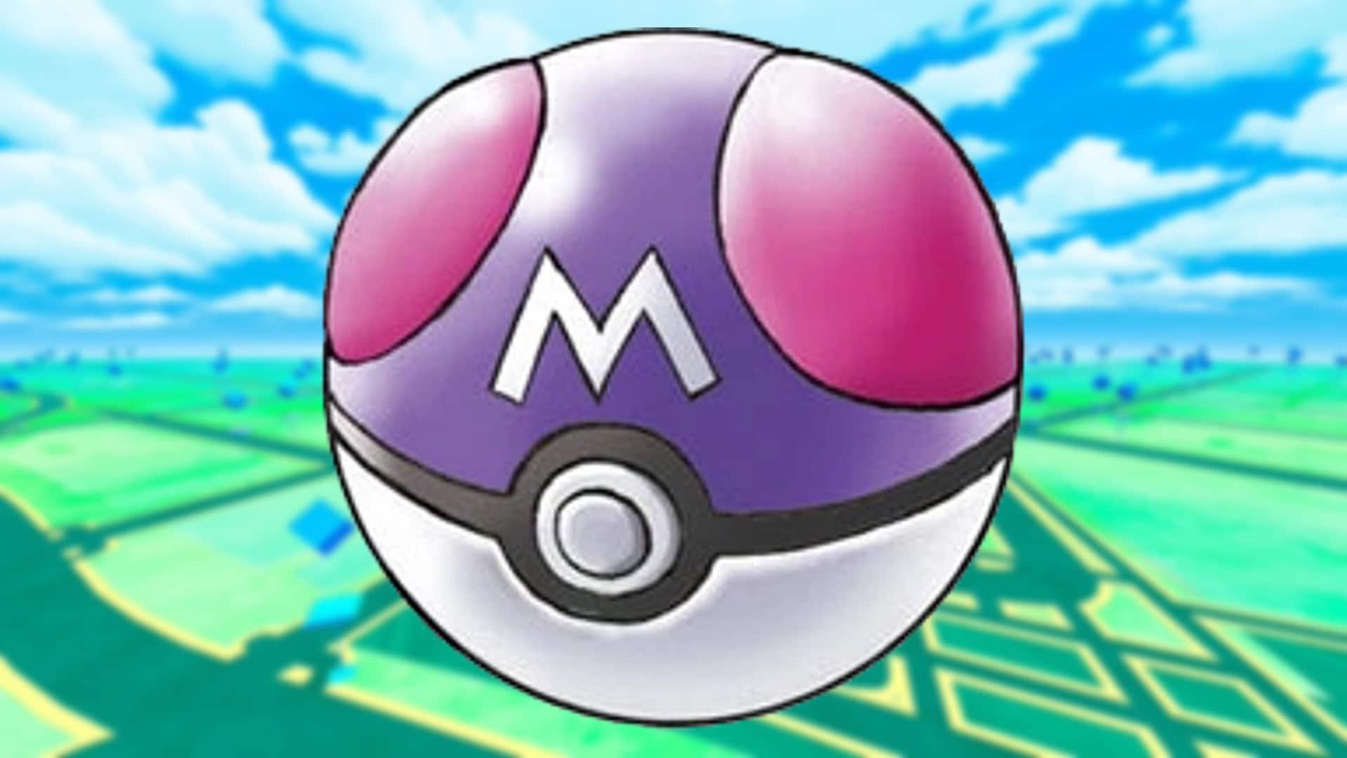 Cómo podría implementarse la Master Ball en Pokémon GO