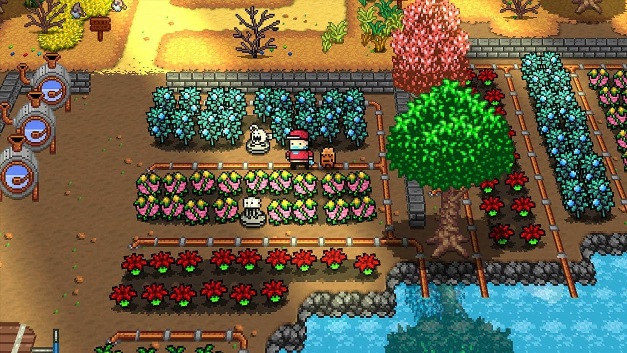 Monster Harvest, el título que mezcla Pokémon y Stardew Valley, ya tiene nueva fecha para Nintendo Switch