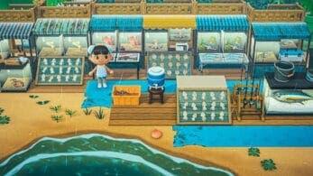 Jugadora sorprende con este genial mercado costero en Animal Crossing: New Horizons