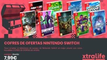 Llegan los Cofres de Ofertas de Nintendo Switch con videojuegos al mejor precio