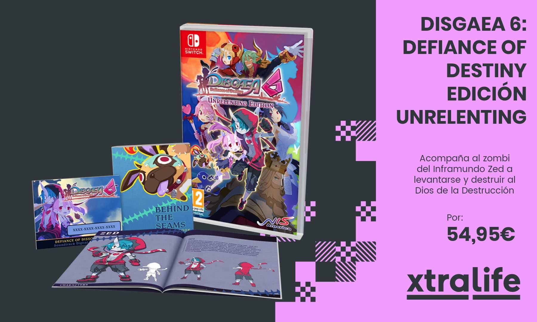 Acompaña a Zed en Disgaea 6: Defiance of Destiny Edición Unrelenting