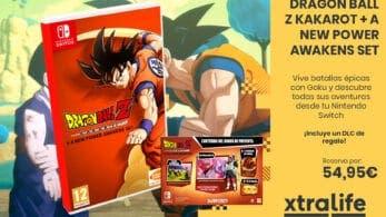 Vive batallas épicas con Dragon Ball Z Kakarot + A New Power Awakens Set para Nintendo Switch