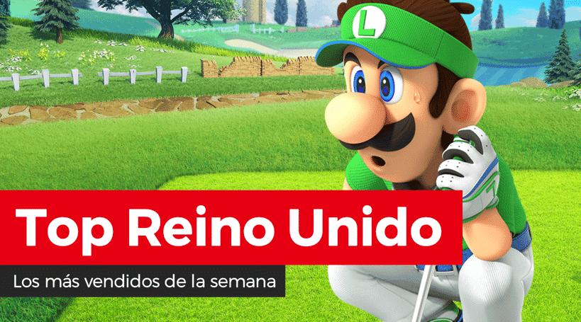 Mario Golf: Super Rush debuta como lo más vendido de la semana en Reino Unido (27/6/21)