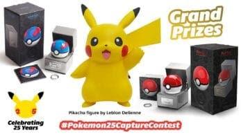 Nintendo Europa lanza su concurso #Pokemon25CaptureContest con grandes premios