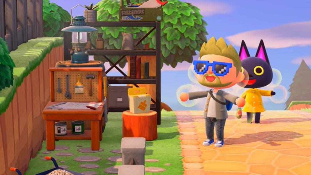 Truco hace que no se nos rompan nunca las herramientas en Animal Crossing: New Horizons