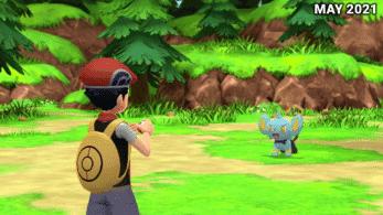 Nuevas capturas de Pokémon Diamante Brillante y Perla Reluciente muestran mejoras gráficas