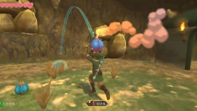 Nintendo comparte detalles y clips de vídeo de las Bombas en Zelda: Skyward Sword HD