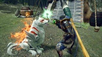 Monster Hunter Rise confirma colaboración con Okami