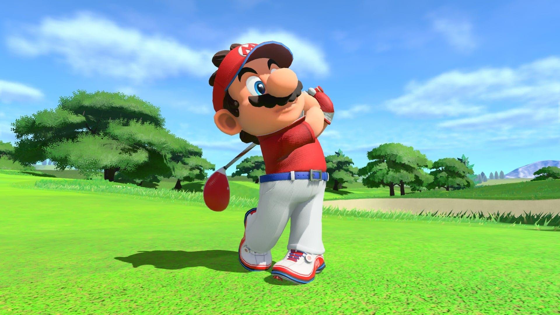 Cómo realizar un lanzamiento curvado en Mario Golf: Super Rush