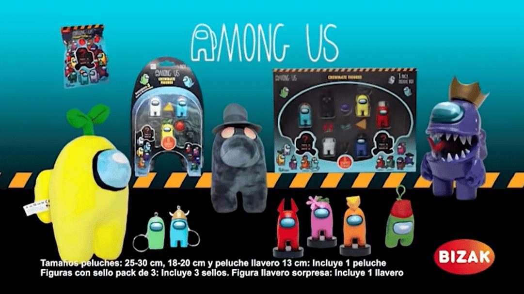 Ya puedes conseguir el merchandise oficial de Among Us gracias a Bizak