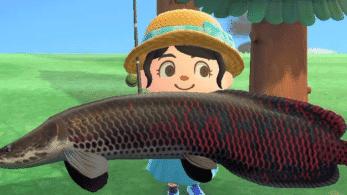 Jugadora se vuelve viral al soltar así peces grandes en Animal Crossing: New Horizons