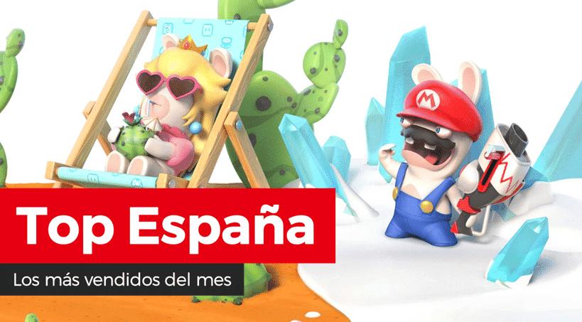 Mario + Rabbids: Kingdom Battle, lo más vendido de Nintendo Switch durante el pasado mes de junio en España