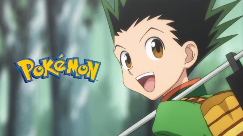 La silueta de este personaje del anime de Pokémon se parece sospechosamente a Gon de Hunter x Hunter