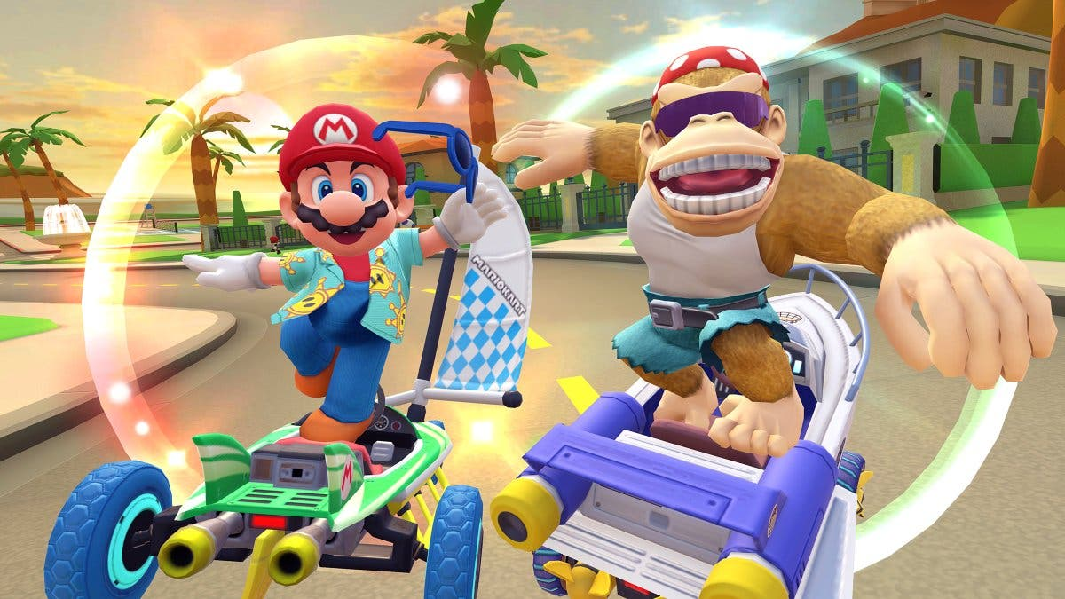 Mario Kart Tour avanza la llegada de su nueva temporada de Los Ángeles con un traje oculto en esta imagen
