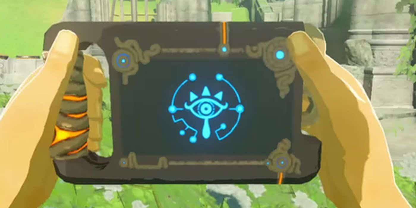 Descubren un inteligente detalle de la Piedra Sheikah de Zelda: Breath of the Wild