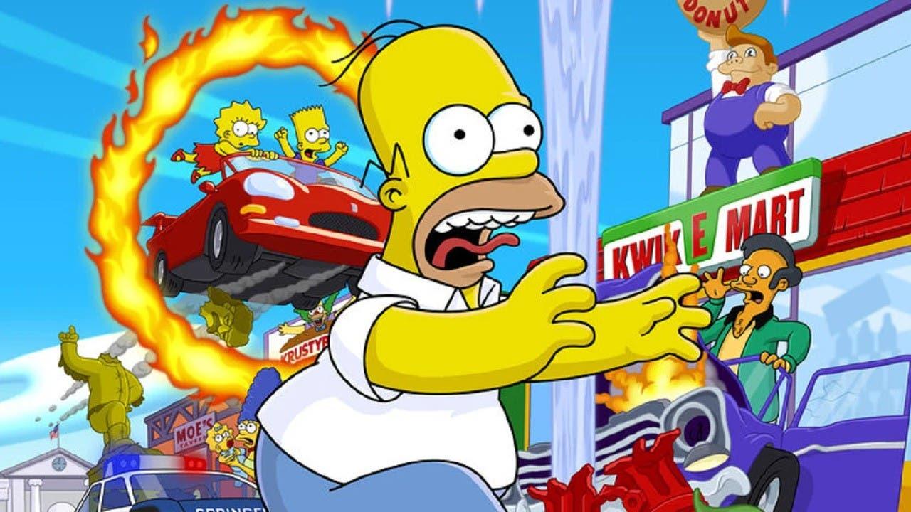 Responsable de Los Simpsons confiesa que le encantaría que regresase Hit & Run