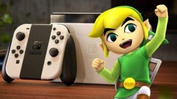 Un fan diseña una genial Nintendo Switch OLED Model tematizada de Zelda: The Wind Waker