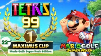 Todos los detalles del nuevo evento de Mario Golf: Super Rush en Tetris 99