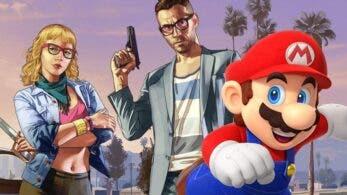 Recrean una carrera de Mario Kart en Grand Theft Auto Online