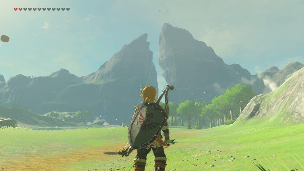 Fan de Zelda: Breath of the Wild recrea los Picos Gemelos en Far Cry 5