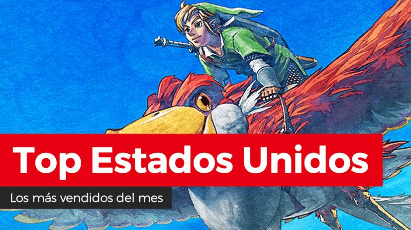 Zelda: Skyward Sword HD fue lo más vendido del pasado mes de julio en Estados Unidos