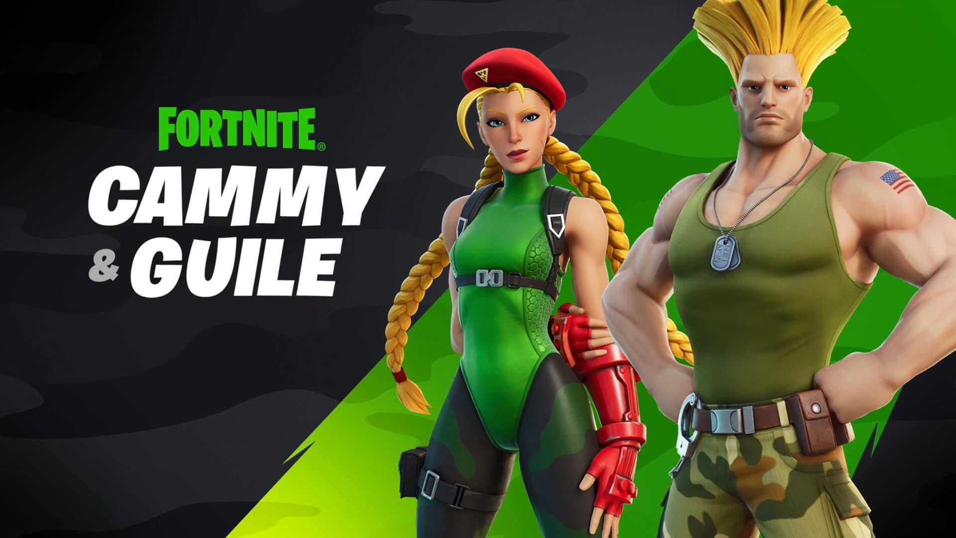 Cammy y Guile de Street Fighter se unen a Fortnite: todos los detalles