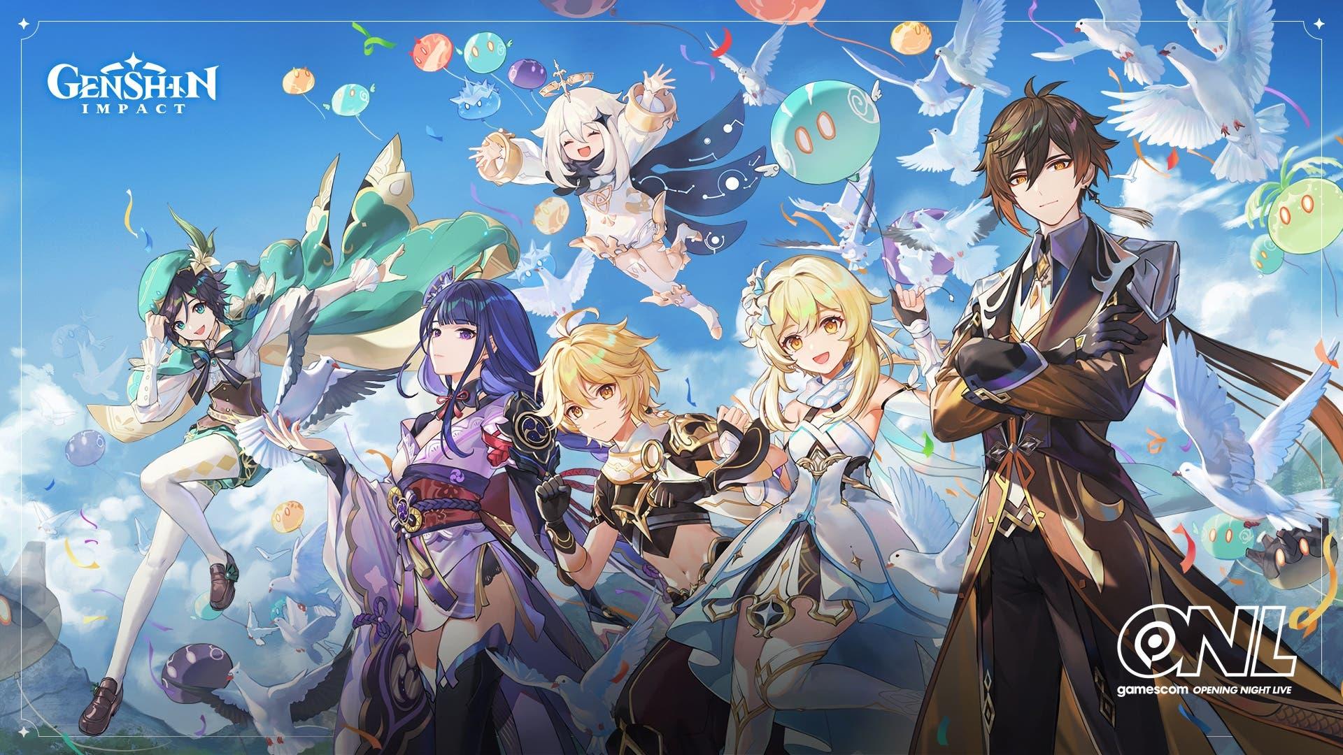 Genshin Impact confirma su presencia en la Gamescom y los fans ruegan novedades para Nintendo Switch