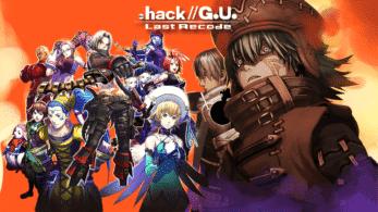 .hack//G.U. Last Recode es listado para Nintendo Switch por la ESRB