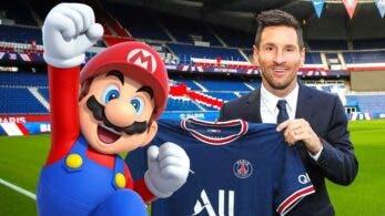 La Ligue 1 celebra la llegada de Lionel Messi al PSG con este tributo a Super Mario