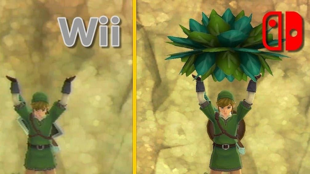 Intentan reproducir antiguos glitches de Zelda: Skyward Sword en la versión HD de Switch