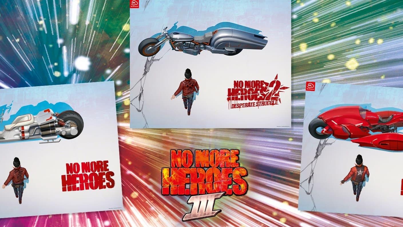 My Nintendo recibe este conjunto de pósters de No More Heroes 3 en el catálogo europeo