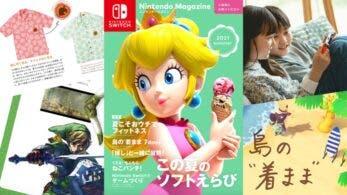 Ya puedes ver la edición de verano de 2021 de la revista Nintendo Magazine oficial de Nintendo Japón