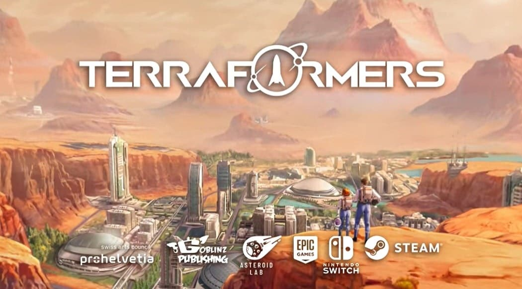 Primeros pasos en Marte: Terraformers llegará a Nintendo Switch en 2022