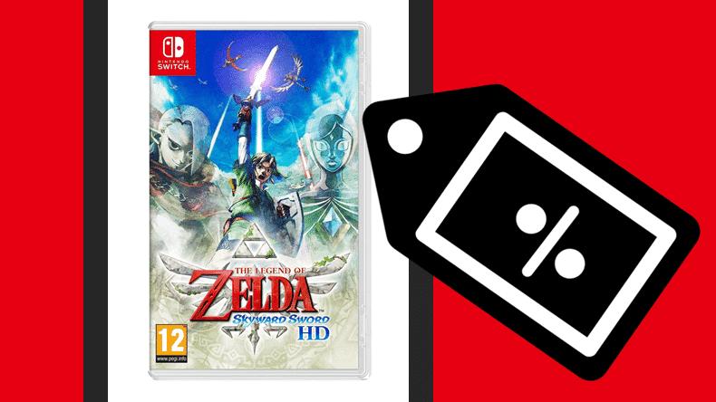 Rebajados Zelda: Skyward Sword HD, sus Joy-Con, Super Mario 3D World y más juegos de Nintendo Switch con estas ofertas flash