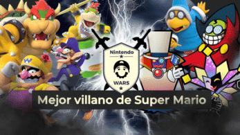 Segunda Ronda de Nintendo Wars: Mejor villano de Super Mario: ¡Vota ya por los 8 clasificados!
