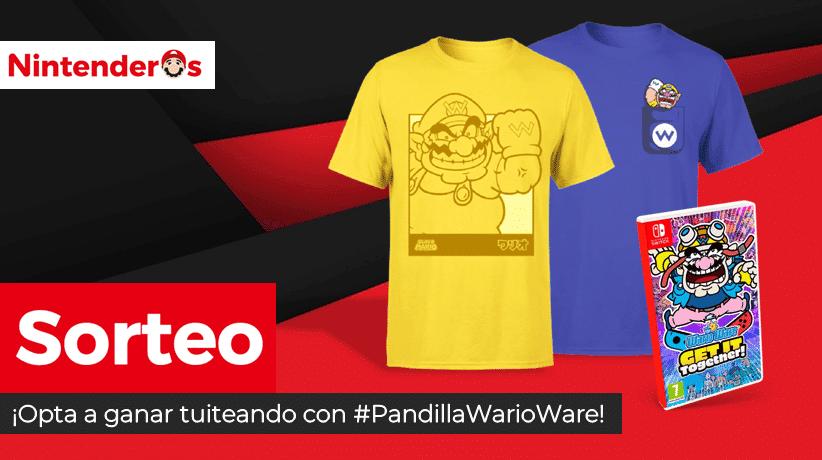 [Act.] ¡Sorteamos otra copia de WarioWare: Get It Together! + 2 camisetas de Wario!