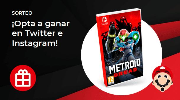 [Act.] ¡Sorteamos otra copia de Metroid Dread para Nintendo Switch!