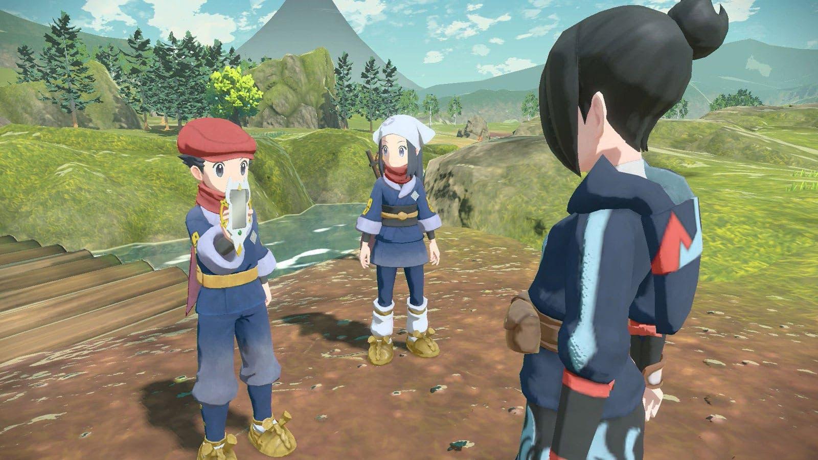 Leyendas Pokémon: Arceus: Detalles sobre los alfas, combates contra personas, Móvil Arceus y más