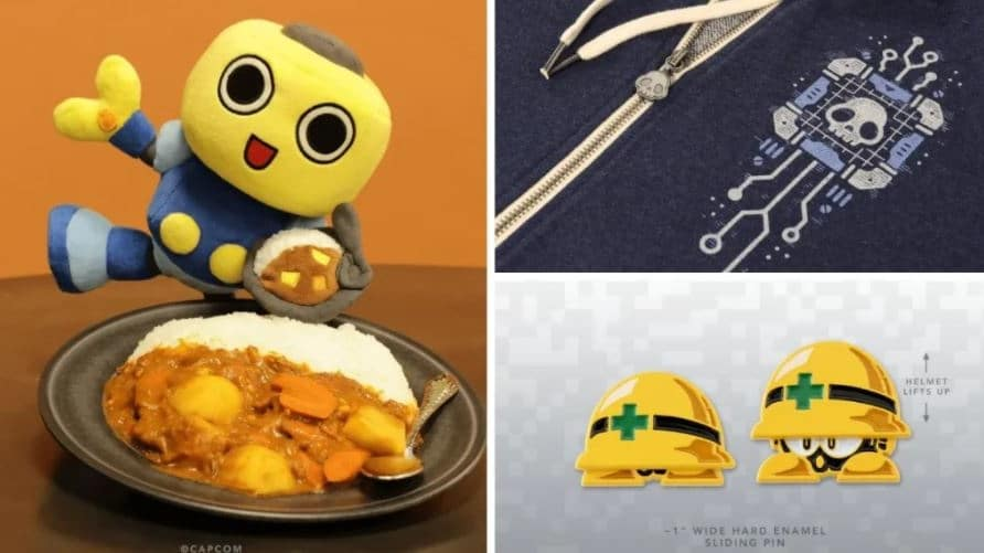 Fangamer anuncia una nueva línea de productos de Mega Man que incluye un peluche de Servbot y más