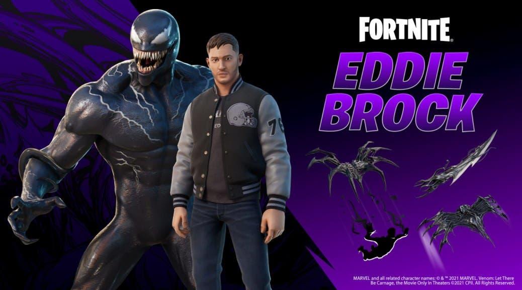 Fortnite nos muestra al detalle su colaboración con Venom