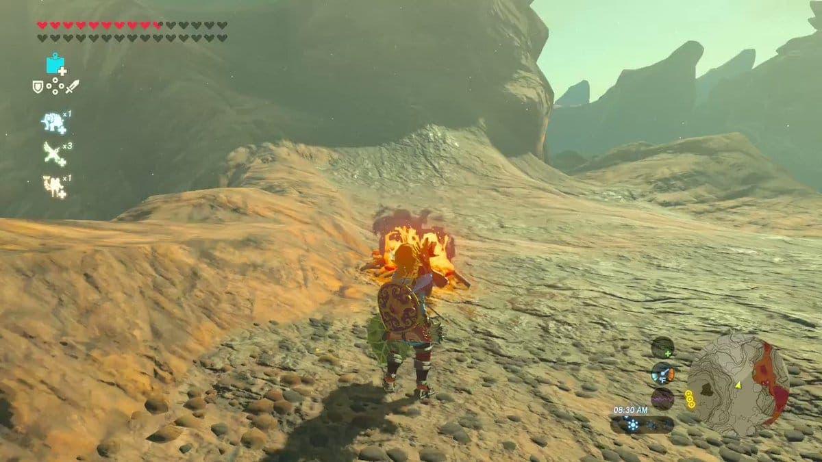 Nuevo glitch descubierto en Zelda: Breath of the Wild permite convertir armas inflamables en ignífugas
