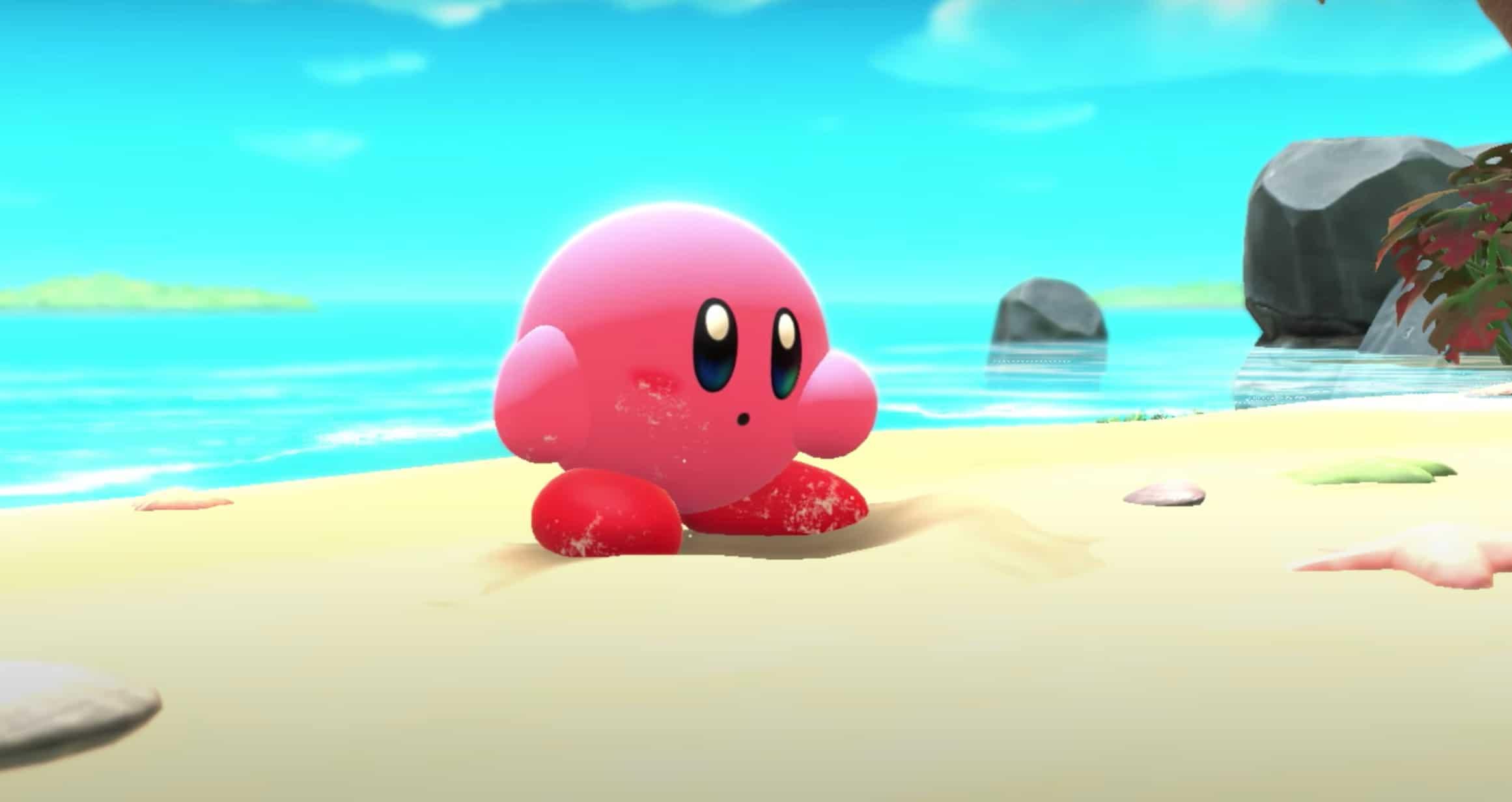 James Turner, diseñador de Pokémon, comparte este arte de Kirby y la tierra olvidada