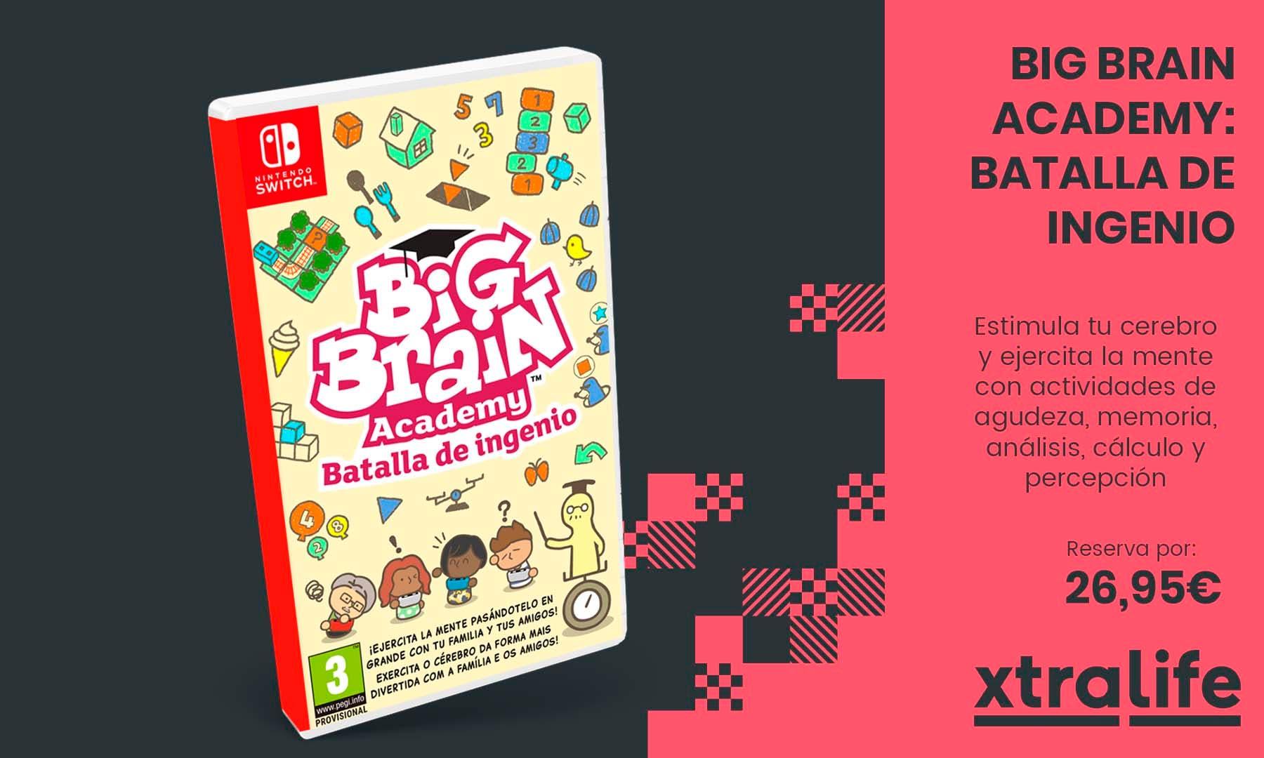 Estimula tu cerebro con Big Brain Academy: Batalla De Ingenio desde tu Nintendo Switch